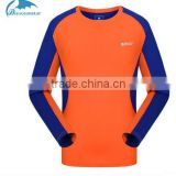 2016 new design spring summer children long sleeve T-shirt outdoor sun protection quick-dry clothing