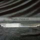 Transparent quartz glass light guide rod quartz rods to map custom high-temperature optical fiber rods