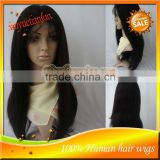 Wholesale 5A Grade High Qualty 100%Brazilian Virgin Human Hair Full Lace Front Wigs In Stock