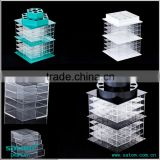 Guangzhou Satom Semilucent Green Acrylic Cosmetic Makeup Organizer Acrylic Lipstick Holder                                                                         Quality Choice