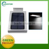 Human detective motion sensor solar wall light led for outdoor