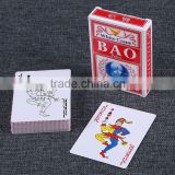 Customized Waterproof LARGE PRINT POKER PLAYING CARDS UV Protected Matt Lamination plastic card printer ---DH20555