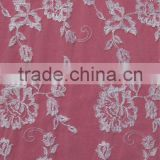 Ligth Embroidery Tulle Mesh Fabric