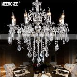 Silver Crystal Chandelier Candle Light Classic Golden Chandelier Lamp Free Shipping Ready Stock