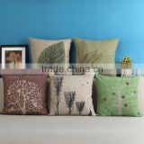 Wholesale Custom Printing Decorative Cushion Covers Baby Cotton Pillow Case