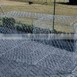 Hexagonal Pvc Coated Galvanized Gabion Wire Mesh Box For Sale Stone Gabion Basket Certificated gabion box manufacturer