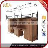 Ningbo Hot selling new arrival metal dormitory double bed metal dormitory double bed                                                                                         Most Popular