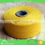 Bulk production with low price High twist for warp sell knitting cotton shaggy carpet yarn
