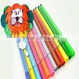 Multicolors water color pen for drawing back to school promotional ink washable color pen