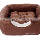 China Supplier Small MOQ Wholesale Pet Products Pet Toy Dog Bed/Private label dog bed house