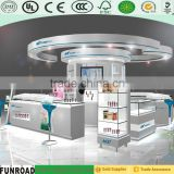 Shenzhen factory acrylic exhibition display/cosmetic display shelves/beauty products display shelf