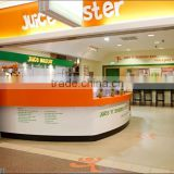 Original container kiosk New Design container kiosk Baking Painted Stone Counter shop Mall photo booth container kiosk