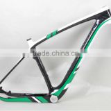 Fashional design Dengfu 29er full carbon bicycle frames axle dropout,MTB frame
