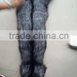 Good Quality Natural Color Raw Silver Fox Fur Skin/Pelt For Sale                                                                                                         Supplier's Choice