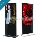 42inch 47inch 65inch IR touschscreen interactive floor stand digital signage, touch screen kiosk