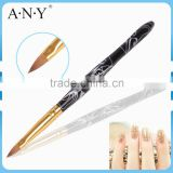 ANY Beauty Care Acrylic Handle Nail Art Acrylic Brush Kolinsky
