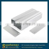 "Aluminum Box Enclosure Case -4.33""*2.08""*0.98""(L*W*H) plastic electrical panel box"