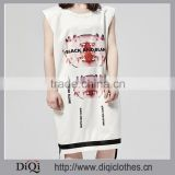 Diqi White Color Anti-cutting Material international brand t-shirts with t shirt manufacturing equipment