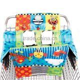 2-in-1 Baby Shopping Cart Cover and Highchair cover