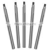 Custom stainless steel threaded motor shaft, linear shaft