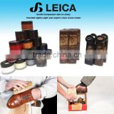 Protective and emulsifying shoe shine equipment polish cream with multiple functions made in Japan