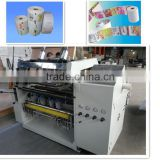 Fax paper roll slitting machine,thermal jumbo roll paper slitting machine thermal paper slitting machine
