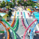 2016 Aqualoop Water Amusement Park Spiral slide Fiberglass water slide for sale -WM International