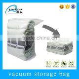 design printing / size plastic cube vacuum packaging bag for clothing or bedding