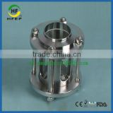 HF6A004 DN80 3 Inch Sanitary Stainless Steel Weld Glass Tube Sight Glass