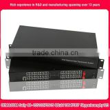 1to64ch FXO/FXS voice telephone fiber optic multiplexer pcm 30 channel multiplexer