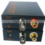 1Ch Video & 1 Channel Bi-Directional Data to Fiber SM 20km Optical Video multiplexer 1CH to 64CH cctv fiber video converter