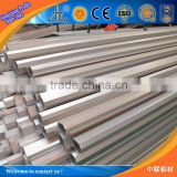 6000 series anodized octagonal aluminum profile tubes / OEM aluminum alloy profile tube / elliptical aluminum alloy tube