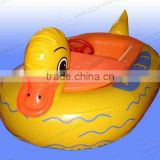Hot sale animal design tire inflatable boat aqua power