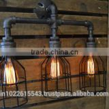 Light Fixture Industrial Furniture Wall Light Industrial Chic Metal Light Chair Decor
