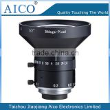 cn aico c mount 1/2 inch F1.4 4mm 5mp machine vision camera lens
