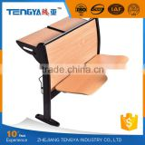 Tengya Campus Seating School Furniture Public Classroom University Desk Chair