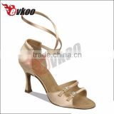 color 3 styles 6 satin material upper diamond buckle decorate thin high heel zapatos de baile latino sandals