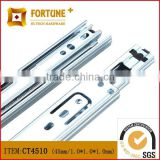Full extension electrical ball bearing curtain track runners