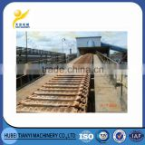 China heavy duty large capacity heat resistant durable plate chain transport mining apron conveyor