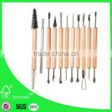 11pcs polymer clay tools set/pottery tool kits/ clay carving tools