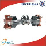 China Factory Truck Suspension Parts 16 Ton Axle