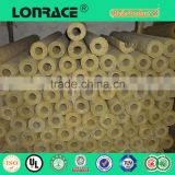 great quality rock wool tube/pipe with aluminium cladding in construction
