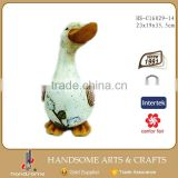 14 Inch Magnesia Duck Statue Outdoor Decoration Garden Ornament Moulds