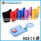 Silicone phone case, mobile phone keeper, silicone bag for cell phone