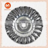 Good Quality Twisted Knot Steel Wire circular Brush