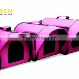 Multi-functional expandable pet dog carrier for airline