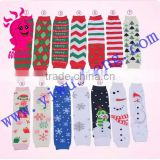 New fashion colorful baby cotton leg warmer baby chevron leg warmer baby leg warmers knitting pattern