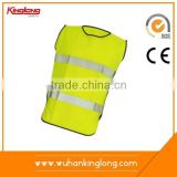 EN471 Class 2 High Reflective Tape Yellow Safety Roadway Warning Vest