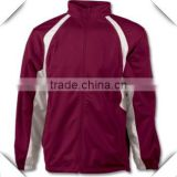 Best quality 100% Polyester performance brushed Hook Jacket with logo Embroidery and Screen Printing