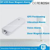 Funtional magnetic personal gps anti-lost tracker power bank 4500MA/door car burglar alarm rf-v20